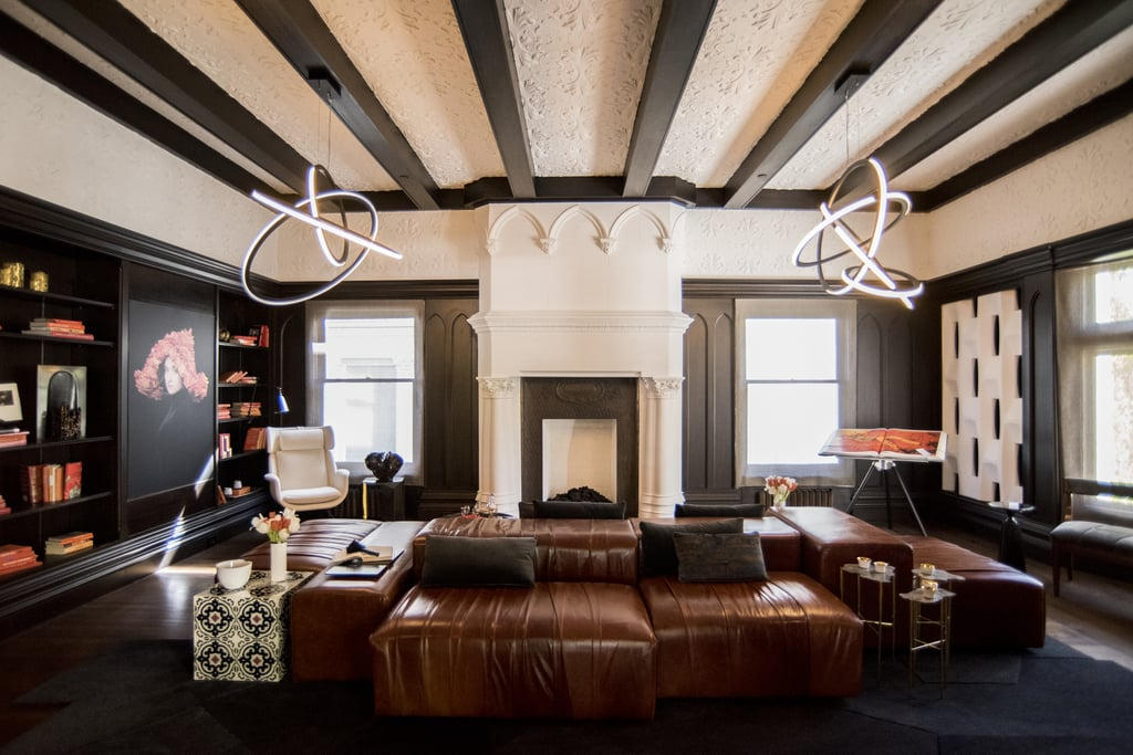 Black Ceiling Beams
