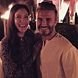 Liv Tyler was all smiles with the birthday boy.