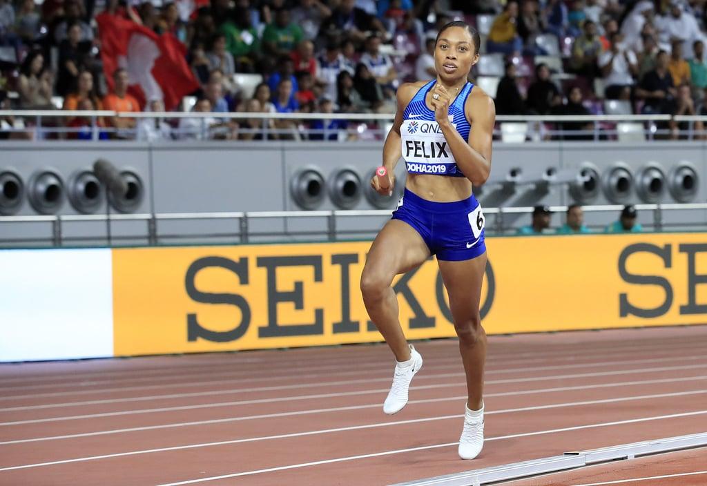 Allyson Felix, Track and Field (Sprinter)