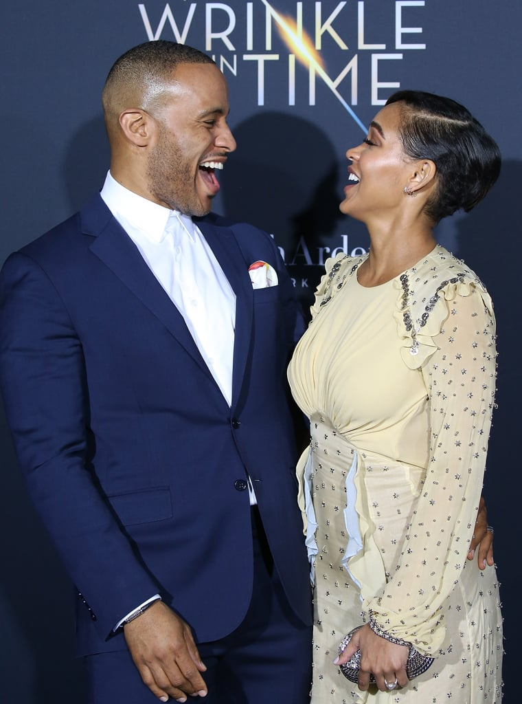 Pictured: DeVon Franklin and Meagan Good
