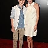 During the Summer of 2017, Millie and Noah Attended a Stranger Things Event Together