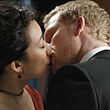 The chemistry between Cristina and Owen is electric.
