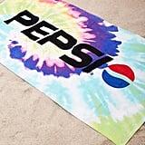 Pepsi Tie-Dye Beach Towel