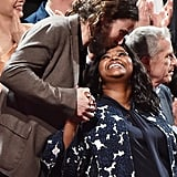 Casey Affleck and Octavia Spencer
