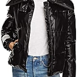 Kendall + Kylie Glossy Puffer Coat