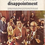 "And in 1969, Mad magazine ran a fake satirical ""60-second disappointment"" ad on its back cover."