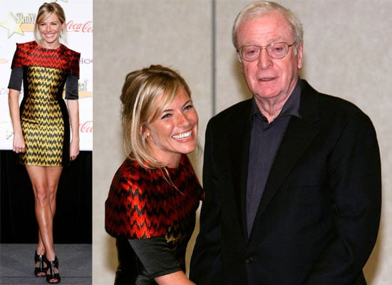 Photos of Sienna Miller and Michael Caine At The ShoWest Awards In Las Vegas