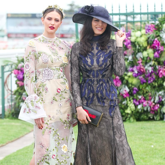 Celebrity Style Pictures at the Caulfield Cup 2016