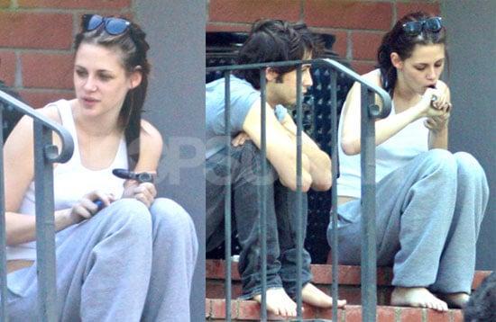Photos of Kristen Stewart Smoking Pot
