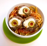 Eyeball Meatballs For Halloween