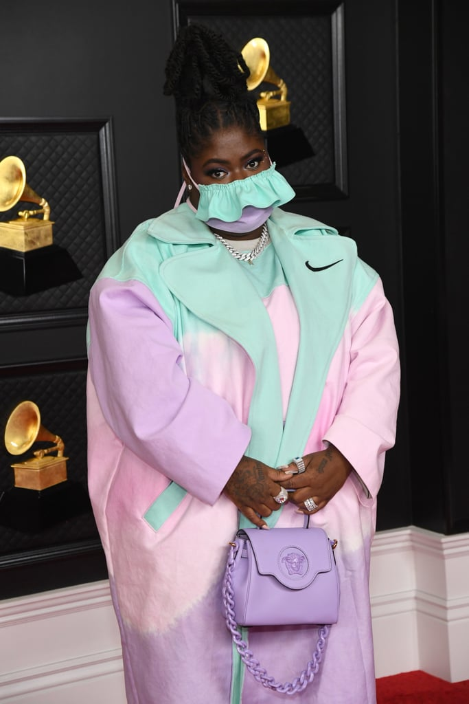 Chika at the 2021 Grammy Awards