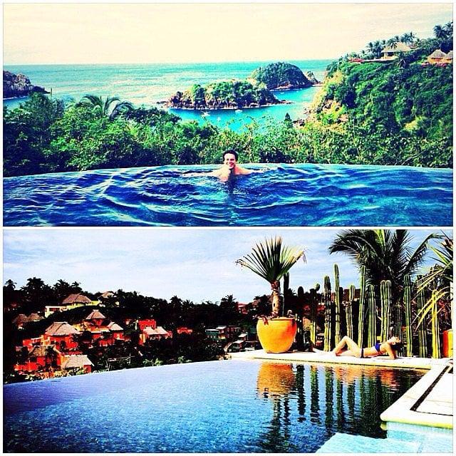 Celebrities: Take Stunning Shots of Infinity Pools
