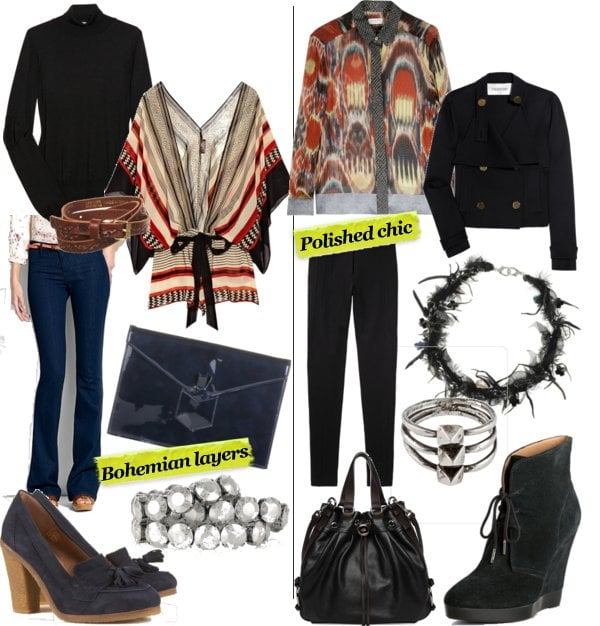 Two Ways to Wear Pre-Fall 2011 Ethnic Prints Trend Now