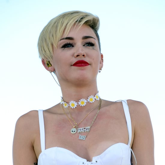 Pictures: Miley Cyrus Crying 2013 IHeartRadio Music Festival
