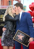 "Michael Bublé Thanks His Wife and ""Hero,"" Luisana Lopilato, During Walk of Fame Ceremony"