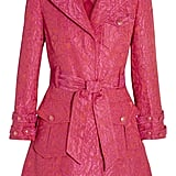 Alice + Olivia Klein Pink Jacquard Trench Coat ($159, originally $797)
