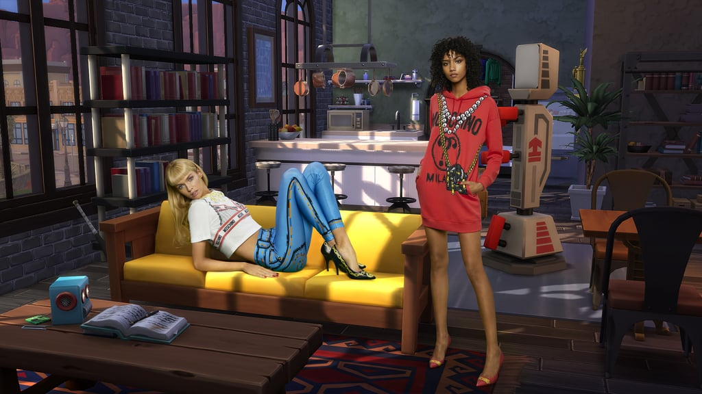 Moschino and Sims Collection 2019