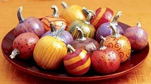 Autumn Decor: Party Pumpkins