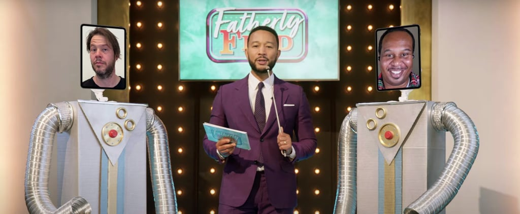 "John Legend Hosts ""Fatherly Feud"" in Father's Day Special"