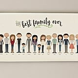 For the Grandparents Who Value a Personal Touch: Custom Extended Family Portrait