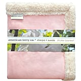 American Terry Co. Faux Suede Blanket