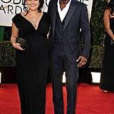 Idris Elba and Naiyana Garth hit the red carpet together.