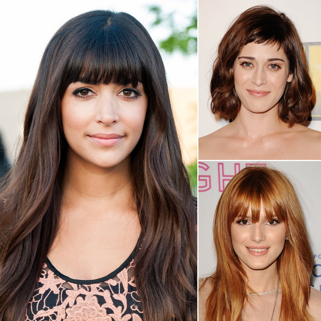 Swell Celebrity Fringe Hairstyles For Spring Popsugar Beauty Uk Short Hairstyles Gunalazisus