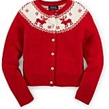 Ralph Lauren Reindeer Wool-Blend Sweater