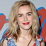 Kiernan Shipka at a Stella McCartney Launch in 2018
