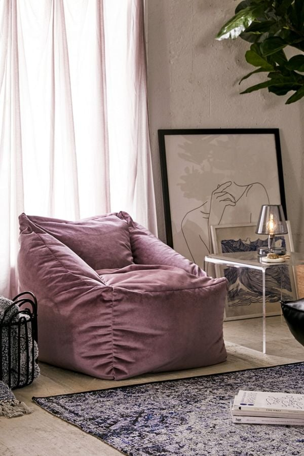 Small Cooper Velvet Lounge Chair