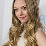 Amanda Seyfried looked beautiful in white.