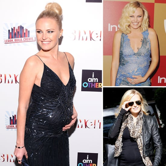"Malin Akerman's ""Sexy With an Edge"" Maternity Style"