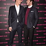 Max Irons and Sam Claflin