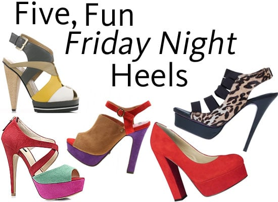 Shop Five of the Best Fun Friday Night Heels from PeepToe Shoes, Wittner, Wanted, Tony Bianco and Style Tread!