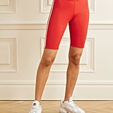 Adidas Originals Red Striped stretch-jersey shorts
