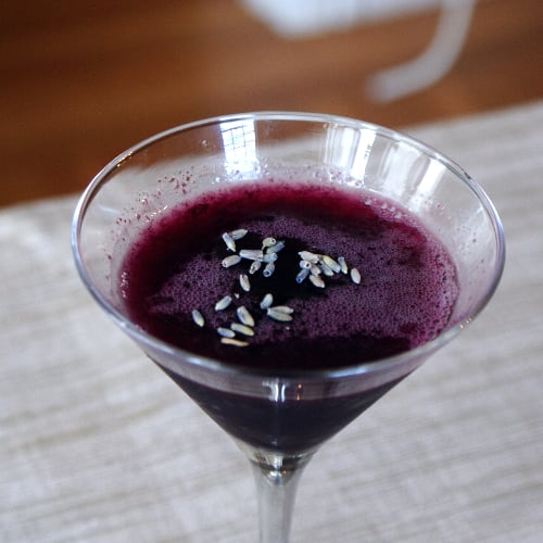 Blueberry Gin Gimlet Recipe