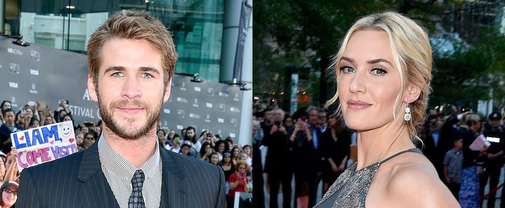 Liam Hemsworth and Kate Winslet Are All About the Fans on the Red Carpet