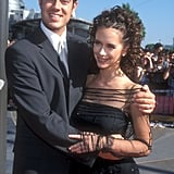 Carson Daly and Jennifer Love Hewitt, 1998