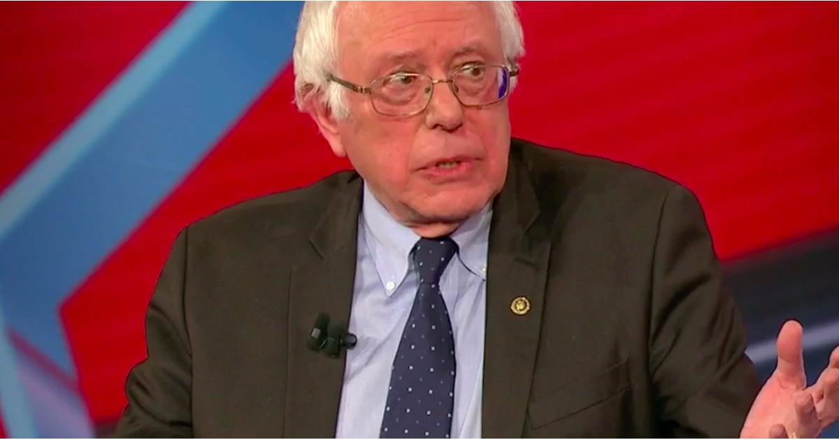 PopsugarNewsDonald TrumpBernie Sanders Quotes From CNN Town Hall Meeting 2016Bernie Sanders Finally Says What Many of Us Are Thinking About Donald TrumpJanuary 15, 2017 by Kelsey GarciaFirst Published: January 10, 2017467 SharesChat with us on Facebook Messenger. Learn what's trending across POPSUGAR.On Jan. 9, Bernie Sanders spoke to voters of varying political parties at a town hall meeting sponsored by CNN and hosted by Chris Cuomo. During the session, Sanders touched on topics like the reported Russian hacking, whether he'll run again in 2020, and Donald Trump's cabinet picks.Throughout his own presidential campaign and following the election, Sanders has been outspoken about his mistrust of the president-elect. At the town hall, he elaborated on that sentiment when he said,