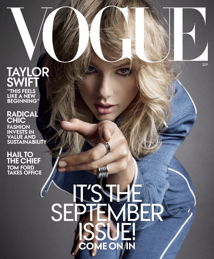 Taylor Swift in Vogue September 2019