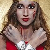 Look 1: Zombie Wonder Woman
