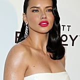 Adriana Lima at the 2019 Elton John AIDS Foundation Academy Oscars Party