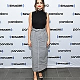 Selena Gomez at Sirius XM Studios in NYC
