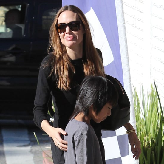Angelina Jolie Party Supply Shopping Pictures
