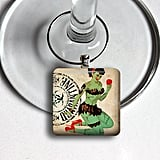 Zombie Girls Wine Charms