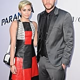August 2013: Miley and Liam Reunite For a Red Carpet Appearance