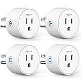 Smart Plugs Compatible With Alexa Google Assistant