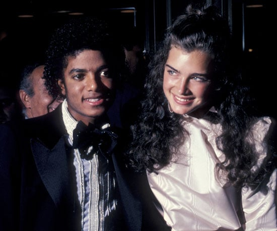 michael and brooke shields were all smiles at the academy awards in remembering michael jackson many years later popsugar celebrity photo 26 michael and brooke shields were all