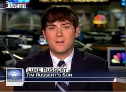 Luke Russert Joins NBC News as Correspondent-at-Large