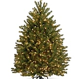 National Tree 4-1/2 Foot Dunhill Fir Tree With 450 Clear Lights